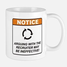 Recruiter / Argue Mug