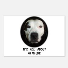 IT'S ALL ABOUT ATTITUDE Postcards (Package of 8)