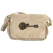 Mosaic Mandolin Messenger Bag