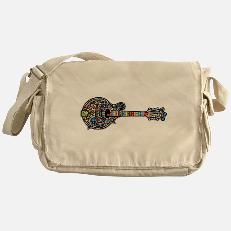 Mosaic Mandolin Messenger Bag