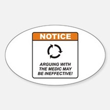 Medic / Argue Decal