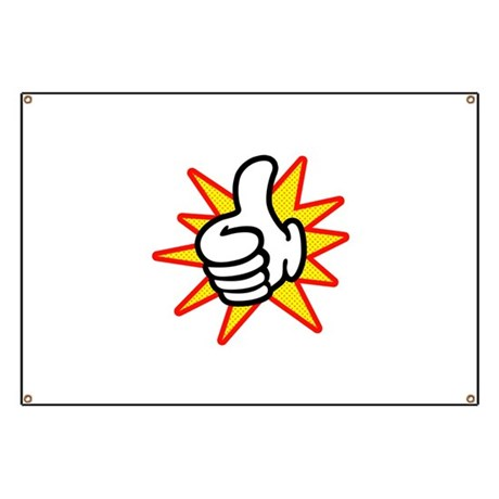Thumbs Up Banner