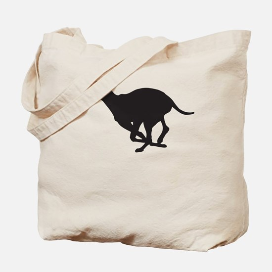 Grey Hound Tote Bag