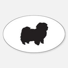 Havanese Sticker (Oval)