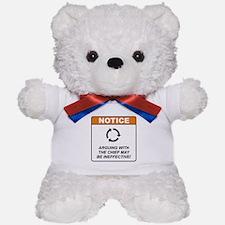 Chief / Argue Teddy Bear