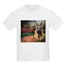 """Why God Made Dogs"" GSD T-Shirt"