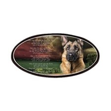 """Why God Made Dogs"" GSD Patches"
