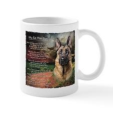 """Why God Made Dogs"" GSD Mug"