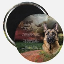"""""""Why God Made Dogs"""" GSD Magnet"""