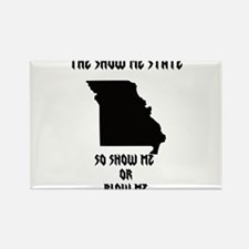 Missouri Rectangle Magnet