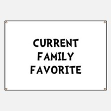 Current Family Favorite Banner