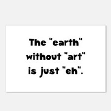 Earth Without Art Postcards (Package of 8)