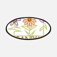 Saniya with cute flowers Patches