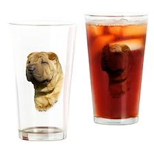 Shar Pei 9M100D-045 Drinking Glass