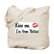 Kiss Me: Tbilisi Tote Bag