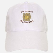 4th Bn 9th Infantry Baseball Baseball Cap