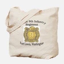 4th Bn 9th Infantry Tote Bag