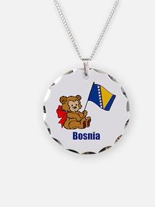 Bosnia Teddy Bear Necklace