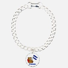 El Salvador Teddy Bear Bracelet