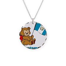 Guatemala Teddy Bear Necklace