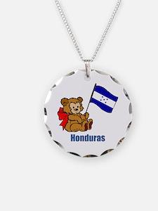 Honduras Teddy Bear Necklace