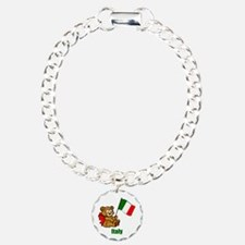 Italy Teddy Bear Bracelet