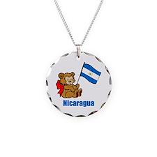 Nicaragua Teddy Bear Necklace