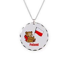 Poland Teddy Bear Necklace