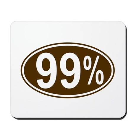 99 Percent Mousepad