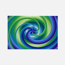 Blue Rectangle Magnet