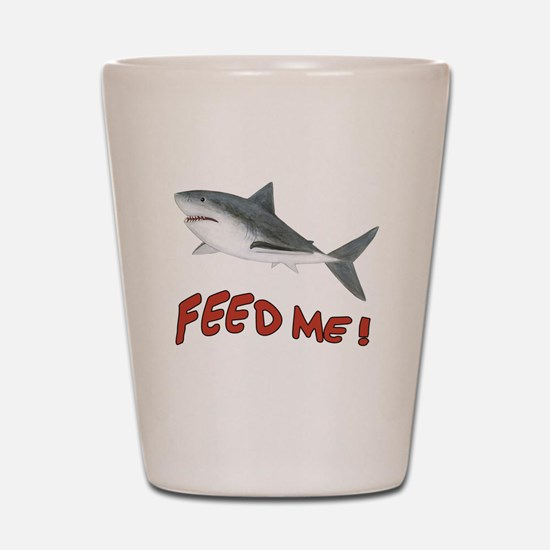Shark - Feed Me Shot Glass