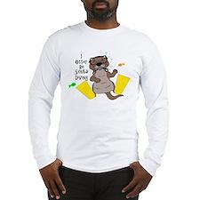 I Otter Be Scuba Diving Long Sleeve T-Shirt