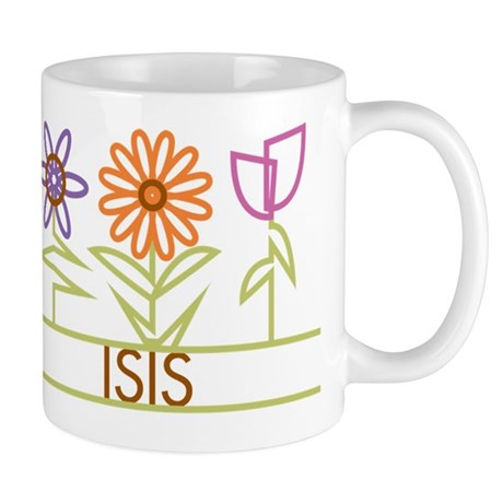 Isis with cute flowers Mug