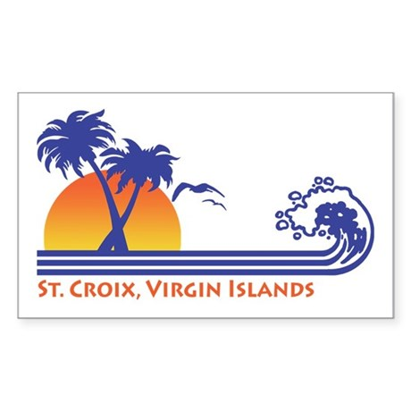 St. Croix Sticker (Rectangle)