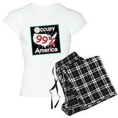 occupy america smile Pajamas