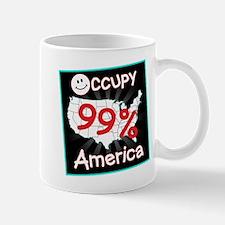 occupy america smile Mug