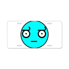 Look of Disapproval meme Aluminum License Plate