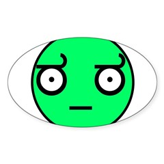 look of disapproval comic mem Decal