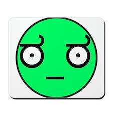 look of disapproval comic mem Mousepad