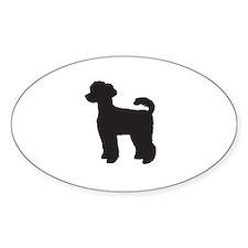 Miniature Poodle Decal