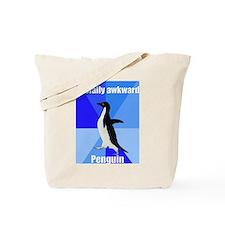 Socially awkward penguin Tote Bag
