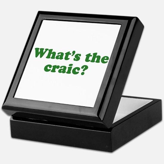 What's The Craic Keepsake Box