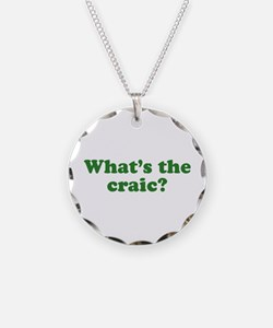 What's The Craic Necklace