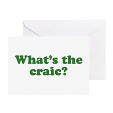 What's The Craic Greeting Card