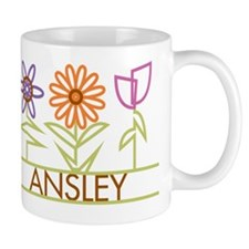 Ansley with cute flowers Mug