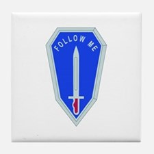 DUI - Infantry Center/School Tile Coaster