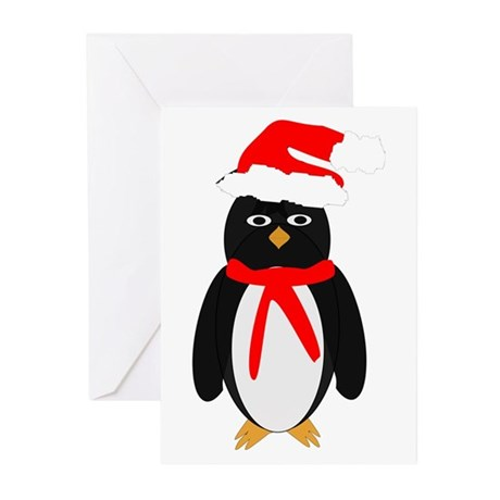 Christmas Penguin Greeting Cards (Pk of 10)