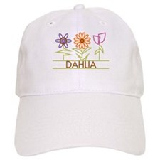 Dahlia with cute flowers Baseball Cap
