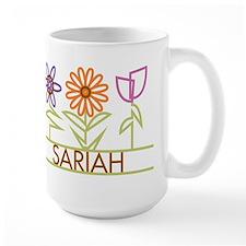 Sariah with cute flowers Mug