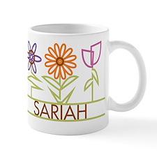 Sariah with cute flowers Small Mug